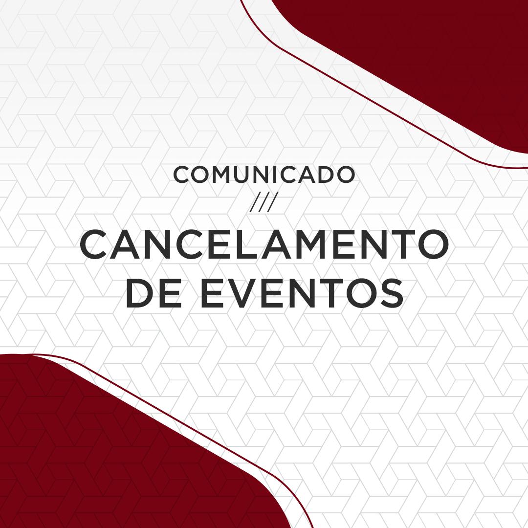 IRB cancela eventos programados para os meses de março e abril | IRB - Instituto Rui Barbosa