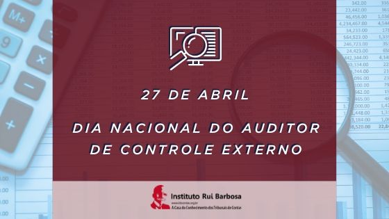 27 DE ABRIL DIA DO AUDITOR DE CONTROLE EXTERNO