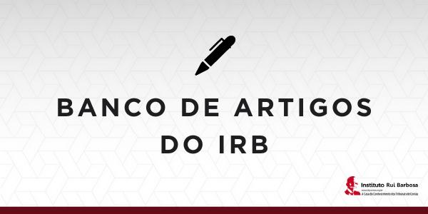 Banco de Artigos IRB