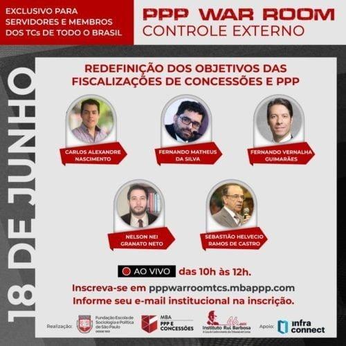 PPP WAR ROOM 18 de junho