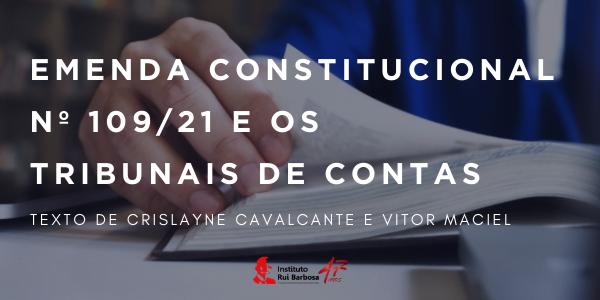 Emenda Constitucional 109/21