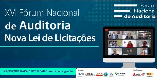 XVI Fórum Nacional de Auditoria